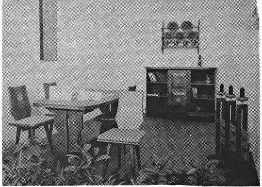 Living corner for the hall, 1976
